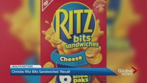 Ritz Bits and No Name brand chicken nugget recall